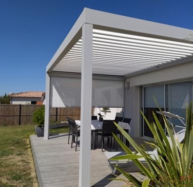 Installation d'une pergola bioclimatique près de Toulouse