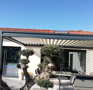 installation pergola bioclimatique Toulouse