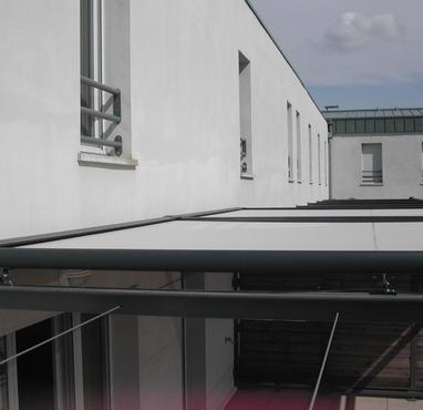 Store de véranda sur terrasse 2